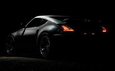 Dark tinted car
